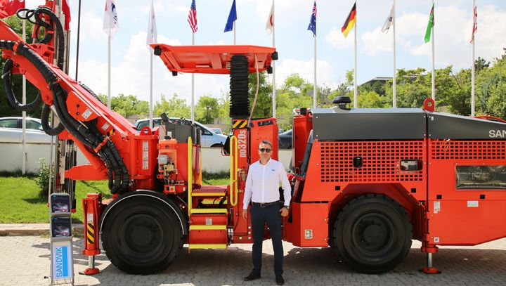 Oguz Arslan, Sandvik Turkey Construction Department Sales Manager